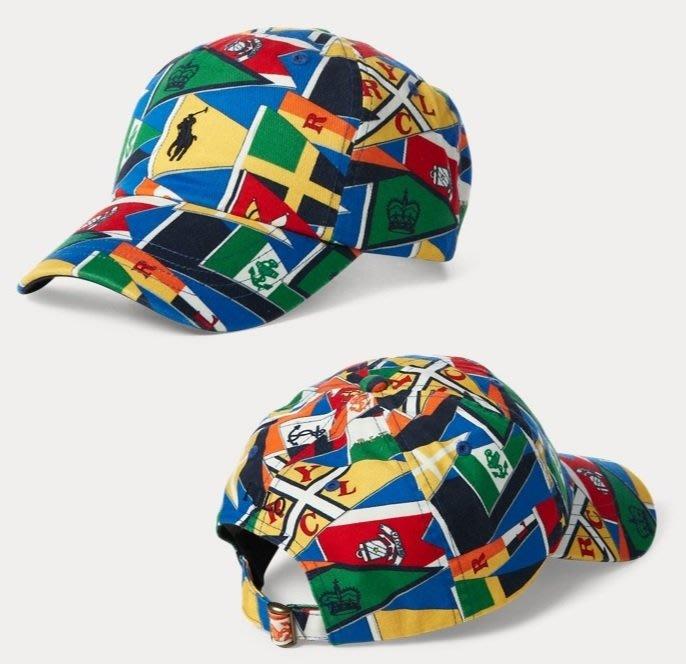 Polo Ralph Lauren 小馬 航海旗子 棒球帽 老帽 帽子 成人款