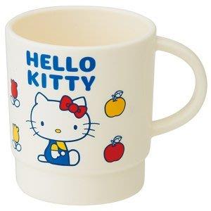 4165本通 日本製  凱蒂貓 塑膠水杯 漱口杯  340ML白色 4973307316777 下標前請詢問
