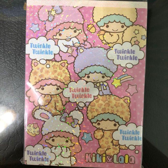 全新 正版 2011出版 日本製 雙子星 kikilala 動物系列 變裝 便條紙 便條本 100張