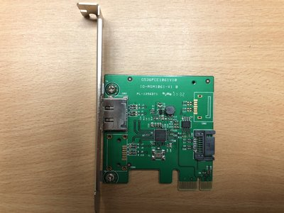 IO-PCE1061-1E SATA III 1 Internal, 1 External 6Gbps Ports PC