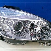 【小林車燈精品】全新外銷件BENZ W204 07-10 原廠型魚眼大燈 (附電調馬達) 特價中