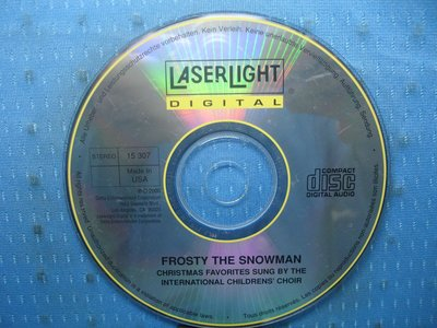 [無殼光碟]GH  Frosty the Snowman  MADE IN USA
