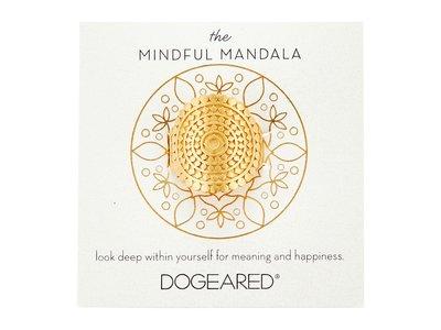Dogeared New Beginnings Mandala 戒指 花 金色