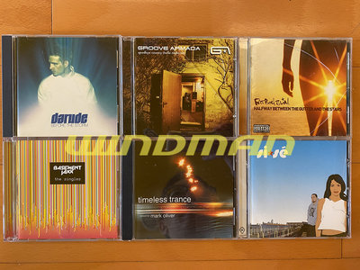 『優質二手瘋』電音CD Darude/Groove Armada/Fatboy Slim/Basement Jaxx