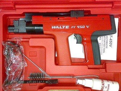 商品缺貨中/含稅【工具先生】華特 WALTE 火藥槍 450型~高品質/非HILTI 喜利得 喜得釘 機身MIT標示