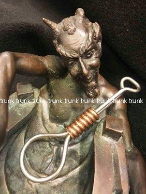Jeff Decker Hippodrome Studio 麻花絞繩 不鏽鋼 紅銅版 鑰匙圈 全新現貨
