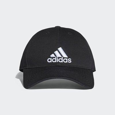 KINGSMAN ADIDAS 6P CAP COTTON 黑白 刺繡 老帽 棒球帽 後扣式 調整 S98151