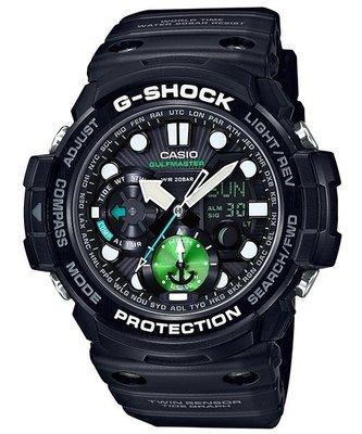 CASIO卡西歐G-SHOCK 強悍機能型Master of G 系列錶款 GN-1000MB-1A GA-1100