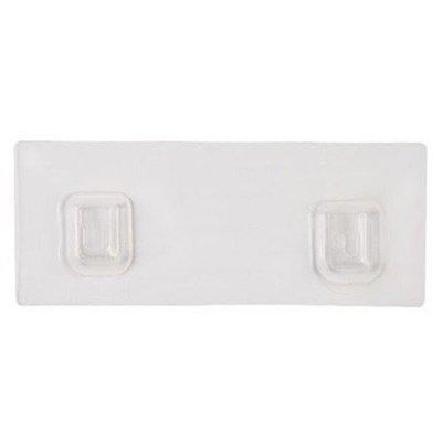 透明貼片 無痕貼 掛架 掛勾 掛鉤 黏膠 壁掛 浴室 置物架 收納架 掛架無痕透明貼片 ☜shop go☞【H002】