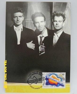 (全新)澳洲2000年-明信片+(郵票)首日