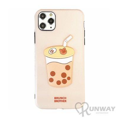 現貨~廠商直銷~珍珠奶茶 熊熊 可愛 IMD 防摔殼 iPhone 12 11 Pro Max XR Xs 7/8 SE