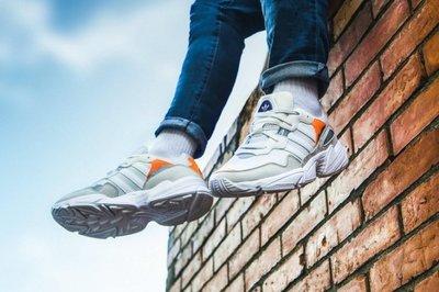 》P.S 》ADIDAS ORIGINALS YUNG-96 灰橘 復古 休閒 老爹鞋 男鞋 F97179