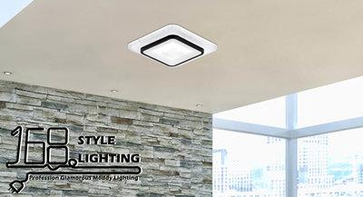 【168 Lighting】小空間《LED吸頂燈》(兩款)方款GE 81186-1