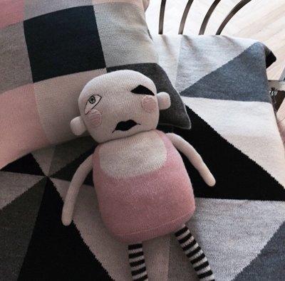 Sis 歐美 安撫玩偶 搞怪陪睡小夥伴 嬰兒 北歐 嬰兒房 IKEA 滿月禮 月子包 - [EHI款]