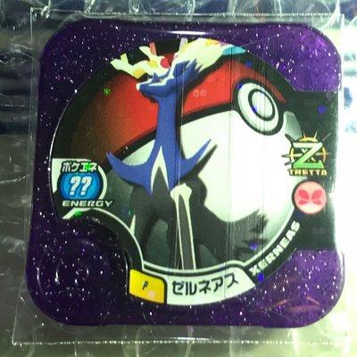 獎盃 冠軍 紫P卡 紫閃 X鹿 哲爾尼亞斯 Pokémon Tretta 神奇寶貝卡匣 非Z神 可招喚 伊菲爾塔爾 Y鳥