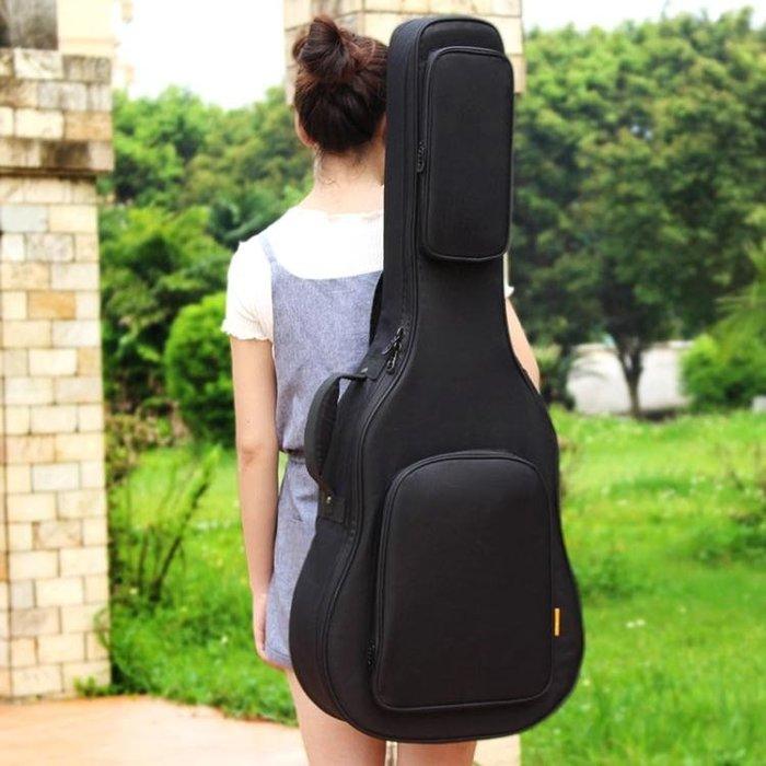 ruiz魯伊斯加厚加棉民謠木吉他包39寸40寸41寸雙肩琴包防水背包 一件免運