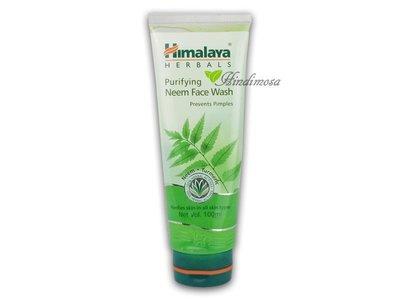 ♡印地摩沙╭♡ 印度 Himalaya喜馬拉雅 草本洗面露 Purifying Neem Face Wash 100ml