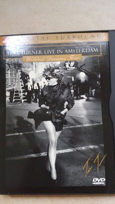 美版 Tina Turner Live In Amsterdam -Wildest dreams tour 演唱會DVD