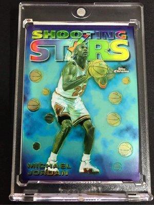 🐐1997-98 Topps Chrome Season's Best Shooting Stars #6 Michael Jordan