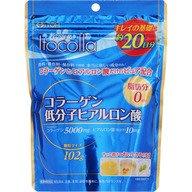 預購日本健康食品(美肌)井藤漢方製薬 イトコラコラーゲン・低分子ヒアルロン酸 20日分 100g