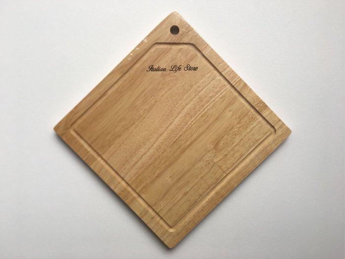 【大囍本舖】環保橡膠木╱方形小砧板