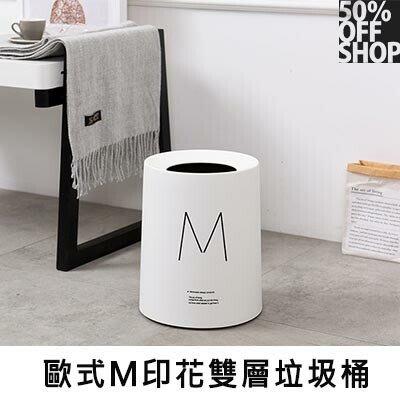 50% OFF SHOP 歐式M印花雙...