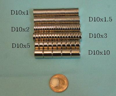 量多可商量(特價)D10x2吳清忠教授人體使用手冊和各種玩具釹鐵錋強力磁鐵直徑10mm厚度2mm