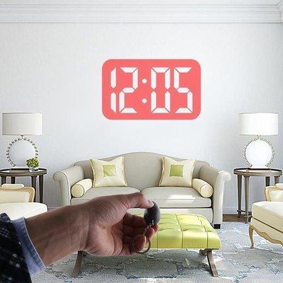 #現貨#秒出  []迷妳投影鐘鑰匙扣 數字便攜投影時鐘 掛包小電筒時鐘 mini projection clock~DK