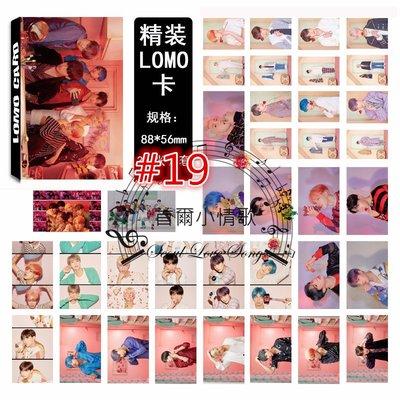 【首爾小情歌】BTS 防彈少年團 最新 集體款 團體款 V 田柾國 JIMIN LOMO 30張卡片 小卡組 #19