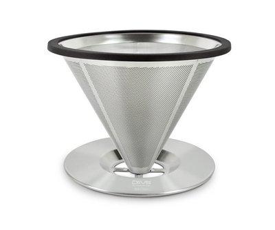 ~附發票~【城市咖啡】【免運】DRIVER 免濾紙 立式 不銹鋼 濾杯 1-2人份