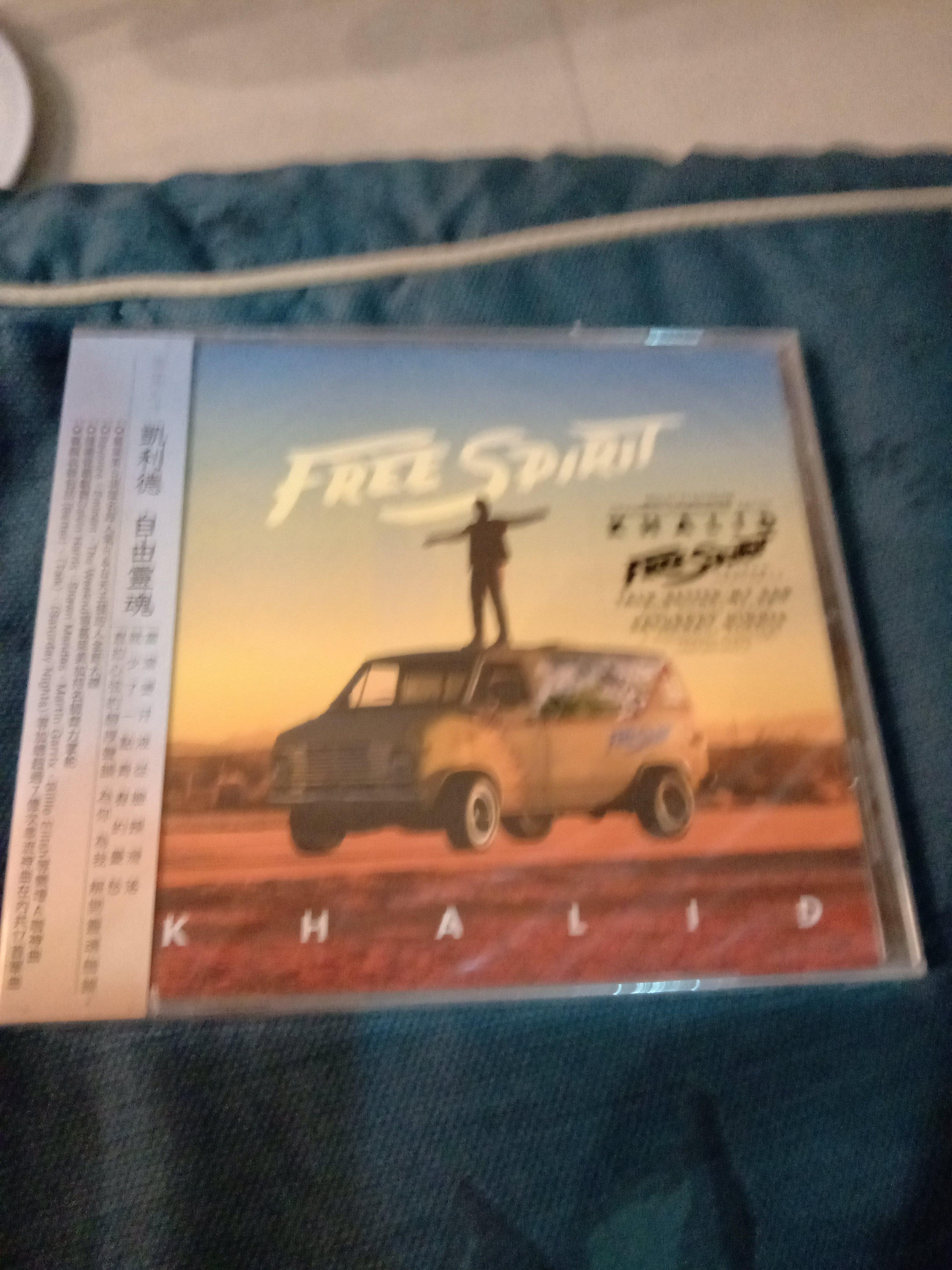 Khalid 凱利德  Free Spirit 自由靈魂  專輯CD  全新