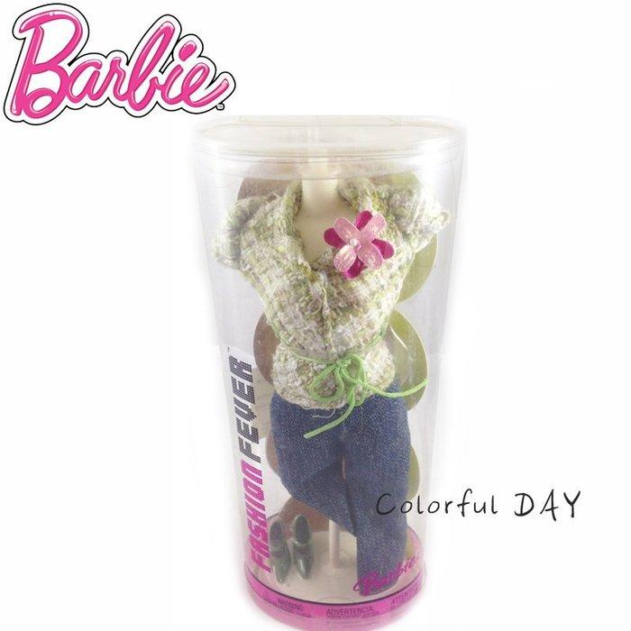 Colorful DAY美泰兒Mettle 芭比(Barbie)肯尼狂熱系列立體限量卡裝套裝含鞋配件套組