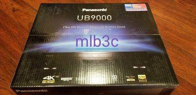 全新 Panasonic UB9000 4K UHD HDR DOLBY Vision Wi-Fi THX 藍光播放器