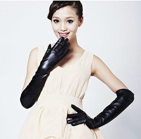 長手套  仿皮手套 長手套 造型手套 T台手套  貨號100款 特價