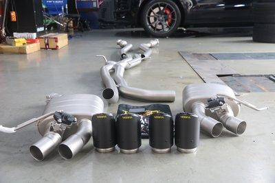 黃帝的店~Tneer 排氣管 for Porsche Macan S GTS, Cayenne E3 Coupe 3.0