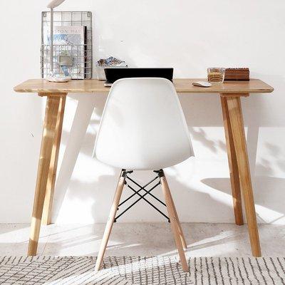【瘋狂夏折扣】書桌 書桌實木簡約電腦桌台式家用北歐現代臥室寫字台學習桌辦公桌子