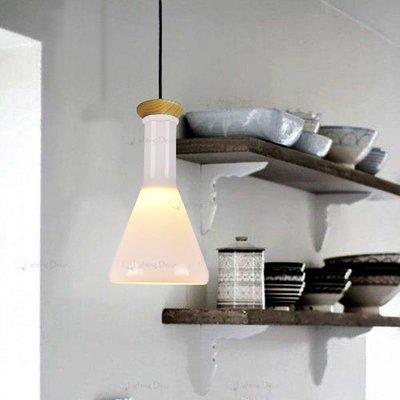 【Lighting.Deco】歡樂空間 神奇實現 餐廳吊燈 魔法瓶吊燈 試管吊燈 實驗瓶吊燈(調味罐吊燈)三角形單燈