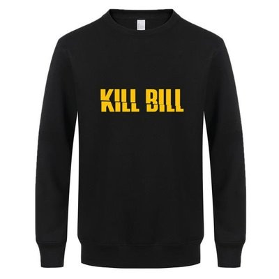 秋冬KILL BILL殺死比爾周邊 經典電影烏瑪瑟曼休閑男士抓絨衛衣 STRANGER