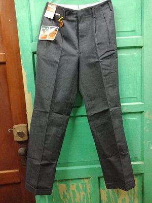 早期 行強力牌帝特龍 西褲~平量約莫尺寸:腰寬34~臀寬47~長100公分