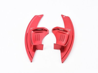 LEYO PD Paddle 換檔 撥片 VW 福斯 New Tiguan 專用 紅 PVS001R