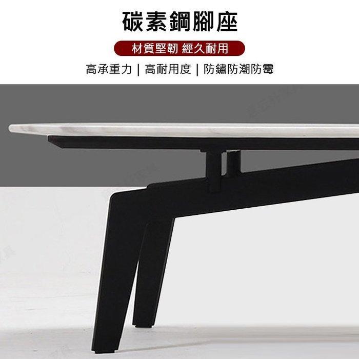 【凱迪家具】K23-04-6義式輕奢簡約風4.3尺陶板茶几/可刷卡