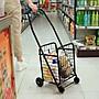 購物車便攜摺疊小拉車爬樓買菜車 老年手拉車...