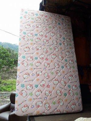二手單人床組~3.5尺單人床架~3.5尺單人床墊~單人加大床組~