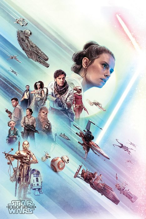 英國進口海報 PP34539( 星際大戰 Star Wars The Rise of Skywalker )