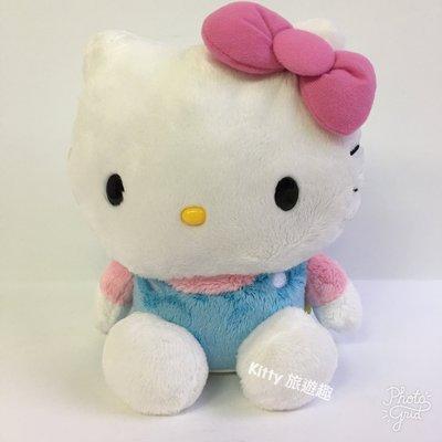 [Kitty 旅遊趣] Hello Kitty 絨毛造型存錢筒 撲滿 凱蒂貓 絨毛玩偶 底部有孔 擺飾 生日禮物
