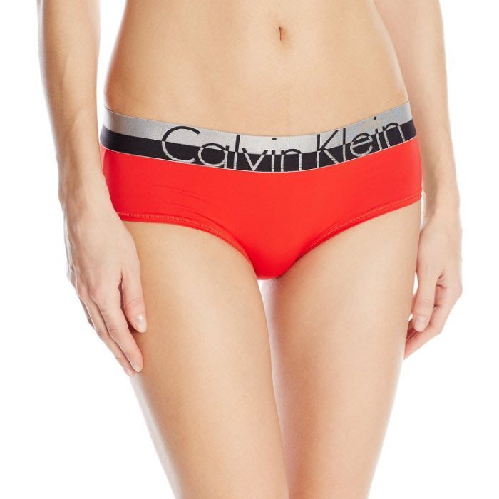 全新真品 CK Calvin Klein LOGO 內褲M-紅色
