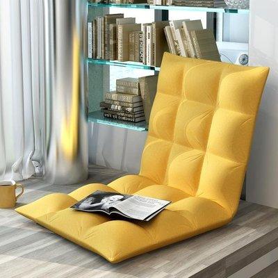 懶人沙發 簡約懶人沙發單人可拆洗榻榻米陽臺飄窗休閒懶人椅折疊坐墊布藝YS