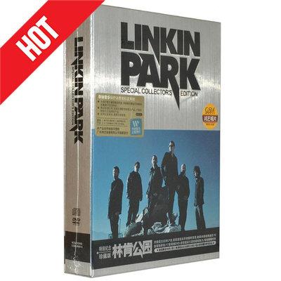 【環球影院】正版林肯公園Linkin Park特別紀念珍藏版專輯 4CD+DVD 搖滾音樂 精美盒裝
