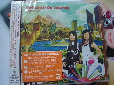 *日版CD--東京エスムジ/ 東京民樂--Switched( 初回盤附側標)