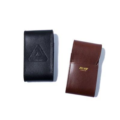 【 WEARCOME 】PALACE CIGARETTE CASE 皮革 香菸盒 英國製 兩色/黑、咖啡